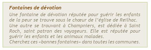 Champniers - Fontaines de dévotion