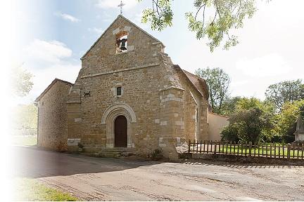 Soudat - église romane Saint-Julien